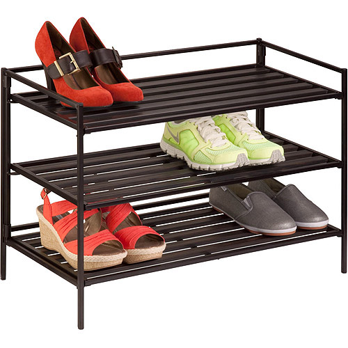 Honey-Can-Do 3-Tier Shoe and Accessory Rack