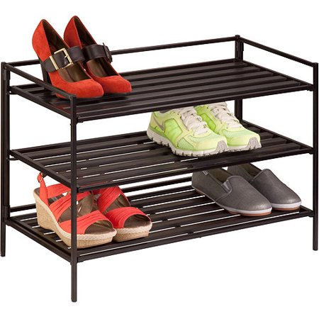 Honey Can Do 3-Tier Shoe and Accessory Rack