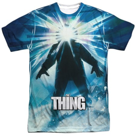 The Thing 1982 Sci-Fi Horror Alien Movie Film Poster Adult Front Print T-Shirt