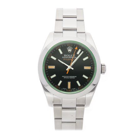 Pre-Owned Rolex Milgauss 116400V Watch