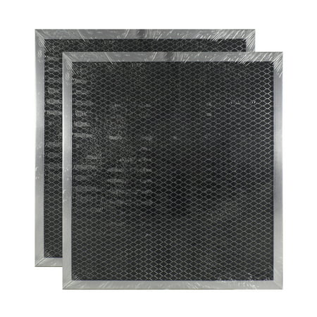 2 PACK WB2X2891 GE Range Hood Charcoal Carbon Filter Replacements by Air Filt... Carbon Range Hood Filter