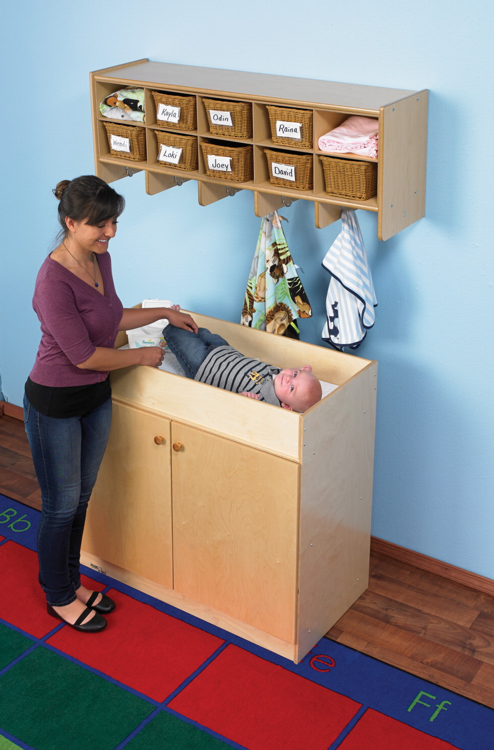 Bird in Hand 1491242 Childcraft Changing Table 40 x 20 x 36 in. by Bird in Hand