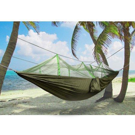Nylon Double Hammock with Mosquito/Bug Net, 440 pounds Capacity - image 5 of 5