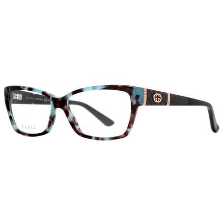 Gucci GG 3559 MKB Havana/Blue Womens Eyeglasses w ...