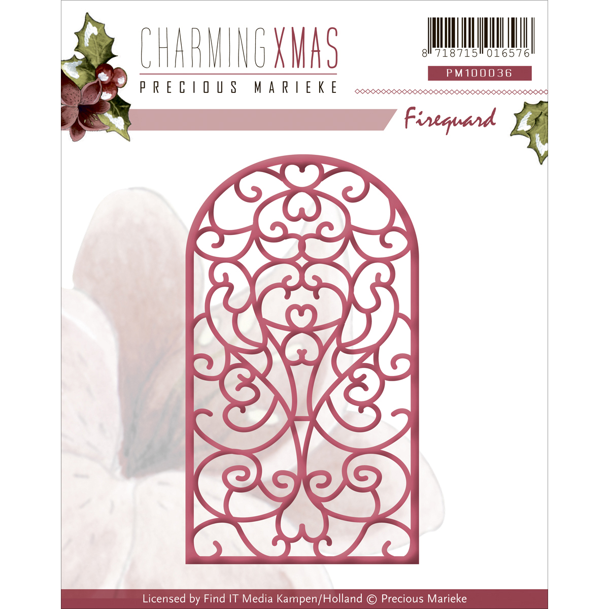 Find It Trading Precious Marieke Charming Christmas Die-Fireguard