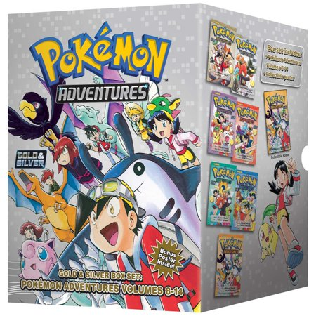 Pokémon Adventures Gold & Silver Box Set (Set Includes Vol. 8-14) (Adventure Smart Box)