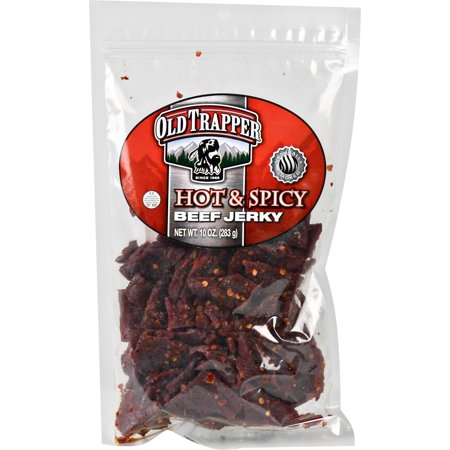 Old Trapper Beef Jerky, Hot & Spicy, 10oz