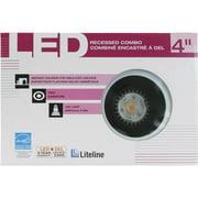 """Liteline Corporation 4"""" Ic Black Baffle RC40501-LED-PW-BK"""