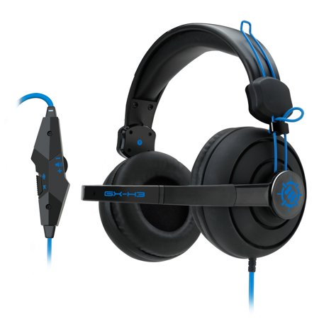 (REFURBISHED) ENHANCE GX-H3 Computer Gaming Headset Microphone & In-Line Controls - Over Ear Design, Plush Earpads & Headband, & 3.5mm AUX - Great for League of Legends , PUBG , & (Best Gaming Pc For League Of Legends)