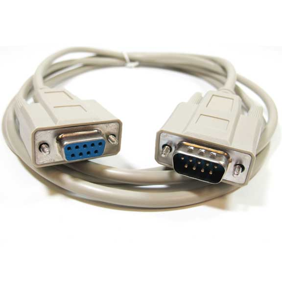 DB9 M/F Serial RS232 Extension Cable