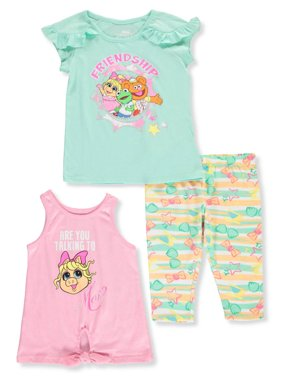 de0e134efc4b7 Product Image Disney Muppet Babies Girls' 3-Piece Capri Leggings Set Outfit