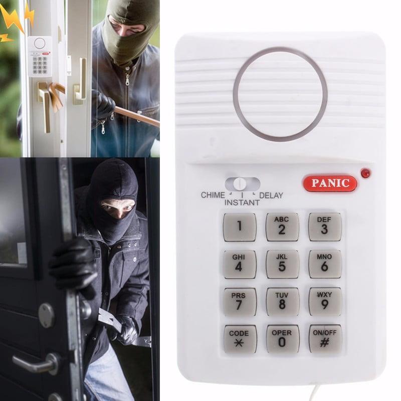 Wireless Door Window Sensor Alarm Detector Burglar Security Alarm System +Keypad