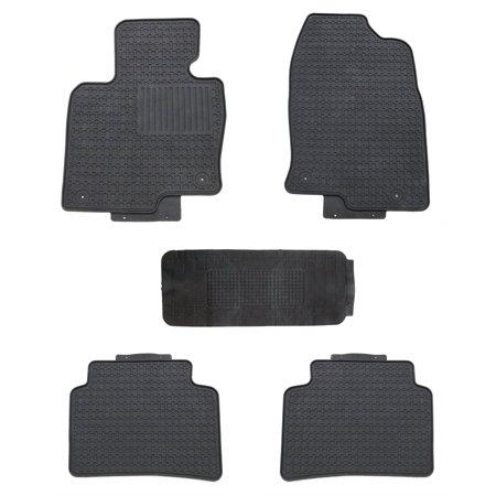 All Weather Floor Mats for Mazda CX-5 2017+ (Mazda 6 All Weather Floor Mats 2015)