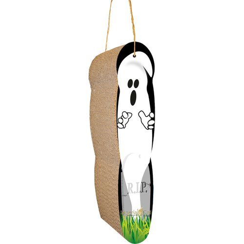 Imperial Cat Scratch n' Shapes Ghost Hanging Recycled Paper Scratching Board