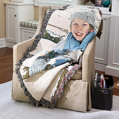 60x80 Photo Woven Throw