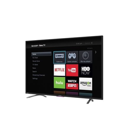 Sharp 50″ Class – Full HD, Smart, LED TV – 1080p, 60Hz (LC50N4000U)