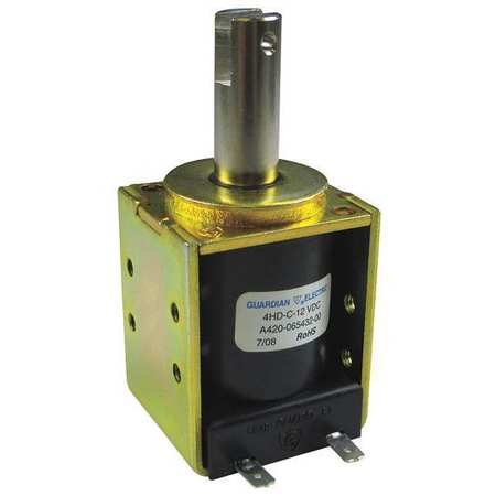 GUARDIAN ELECTRIC 11-C-120A Solenoid,Box Frame,120AC,225mA,225 Ohms