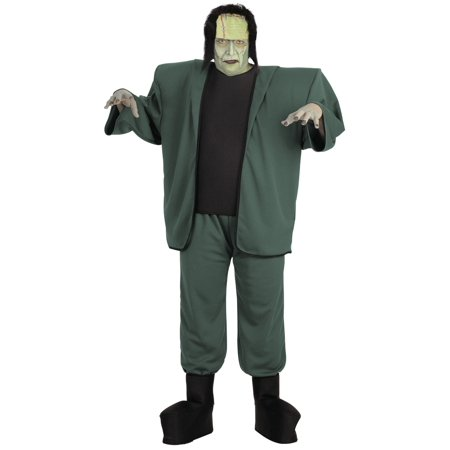 Frankenstein Adult Halloween Costume, Size: Men's - One - Cartoon Character Halloween Costumes Men