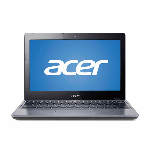 "Acer Granite Gray 11.6"" C2955 Chromebook PC with Intel Celeron 2955U Dual-Core Processor, 2GB Memory, 16GB SSD and Chrome OS"