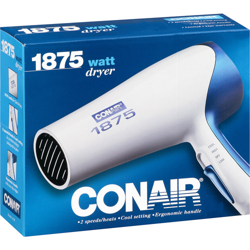 Conair 1875 Watt Dryer, Model 185R