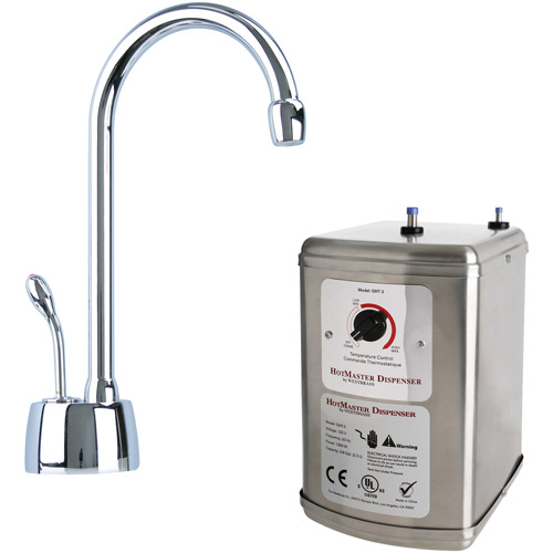 HotMaster Instant Hot Water System with Solid Brass Faucet, Polished Chrome, D271H-26