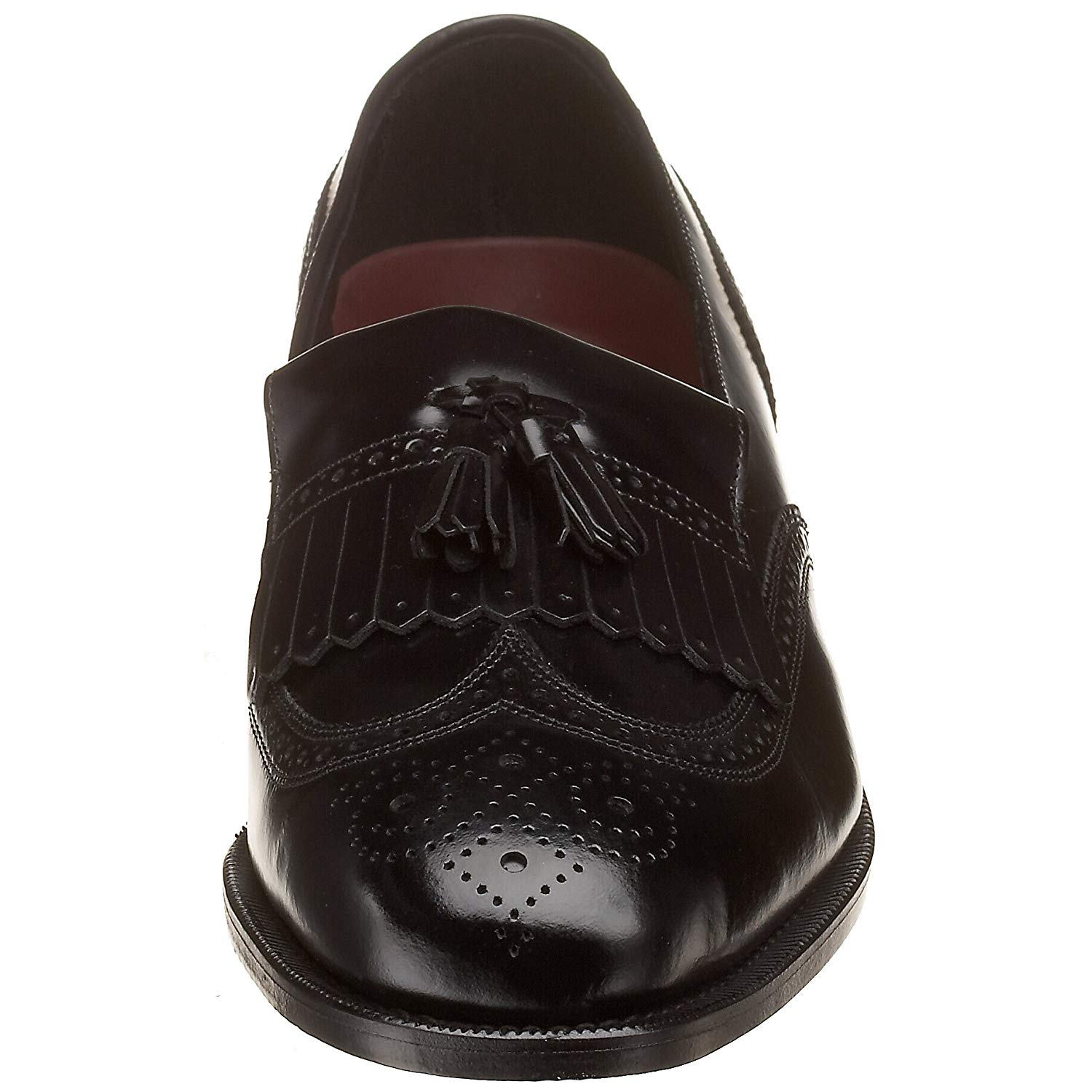 Florsheim Mens Lexington Closed Toe Slip On Shoes, Black, Size 8.0