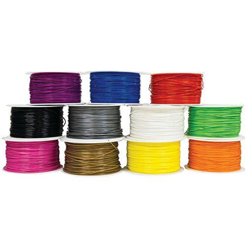 MYWERKZ 24004 1.75mm PLA 3D Printer Filament, 1kg (Red)