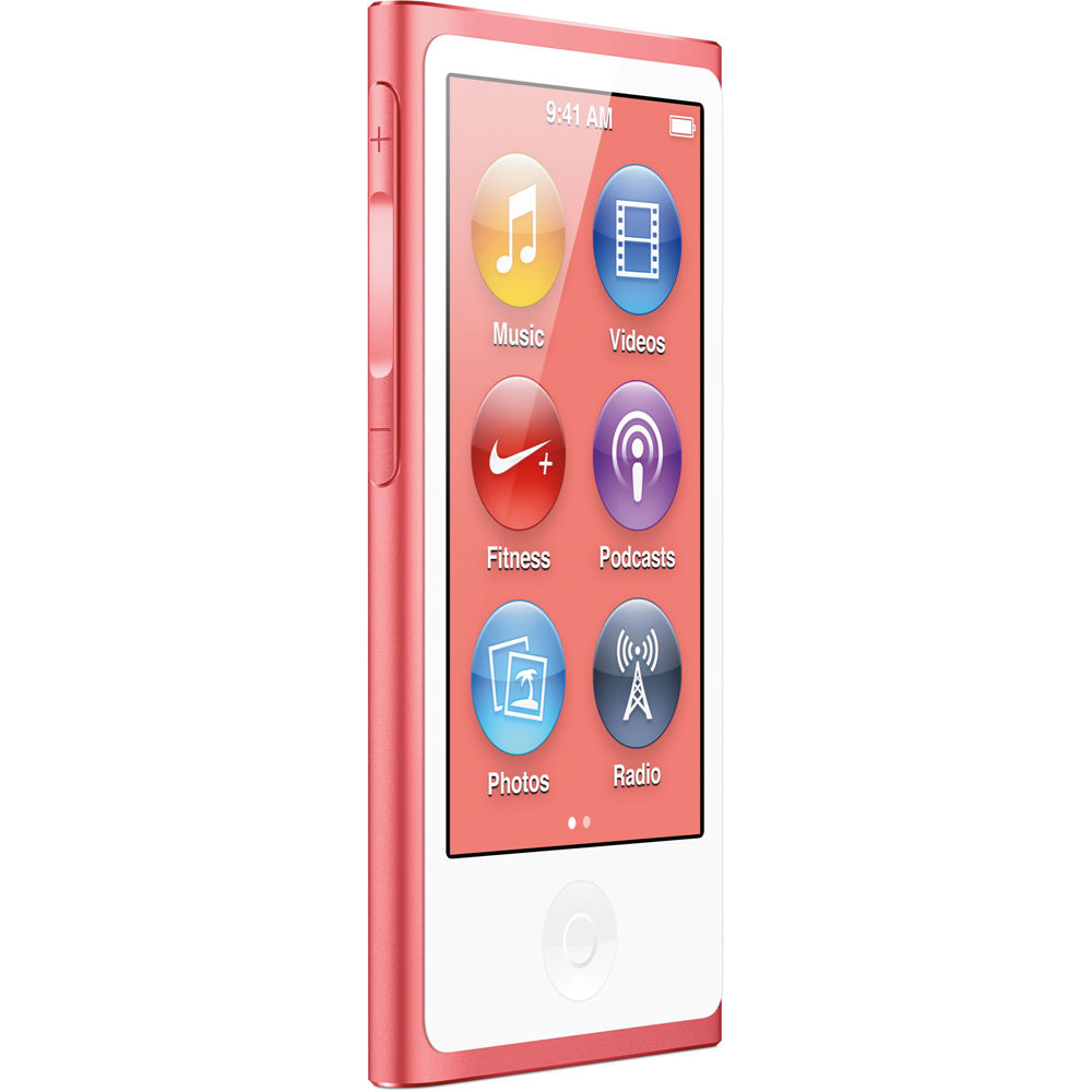 Apple iPod Nano 7th Generation 16GB Pink, Excellent Condition,  (Discontinued Color), MD475LL/A