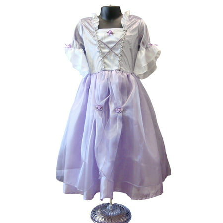 Rapunzel Dress Up Costume (Girls Deluxe Rapunzel Quality Dress Up Costume)
