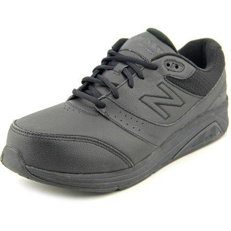 5cc0771d New Balance WW928 Women Round Toe Leather Black Walking Shoe