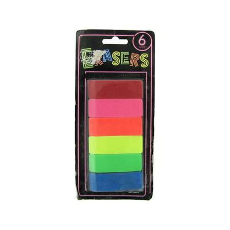 Bulk Buys OS016-72 Neon Erasers](Bulk Erasers)