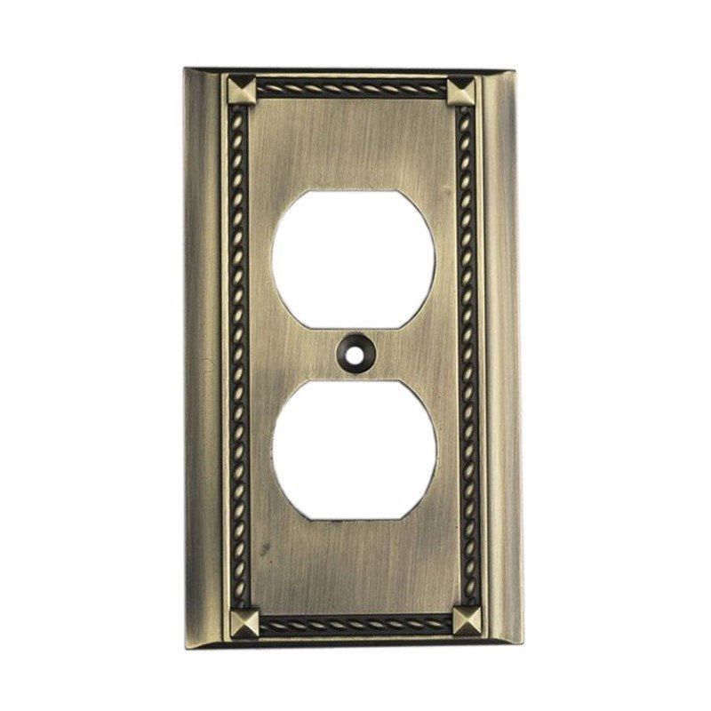 Elk Lighting 2500AB Switch Plates , Accessory, Antique Brass