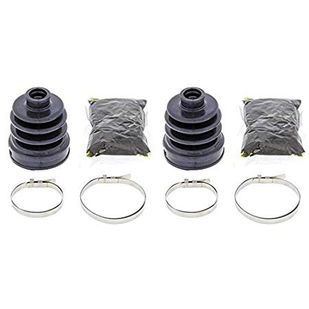 Complete Front Inner CV Boot Repair Kit for Yamaha YFM400 Kodiak 4WD 1993-2006 All