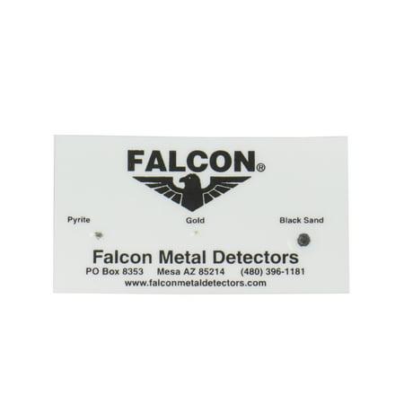 Falcon MD20 Gold Tracker Metal Detector Test Strip Card