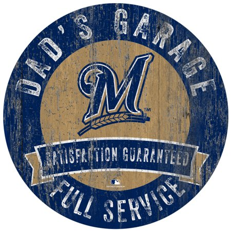 "Milwaukee Brewers 12"" x 12"" Dad"