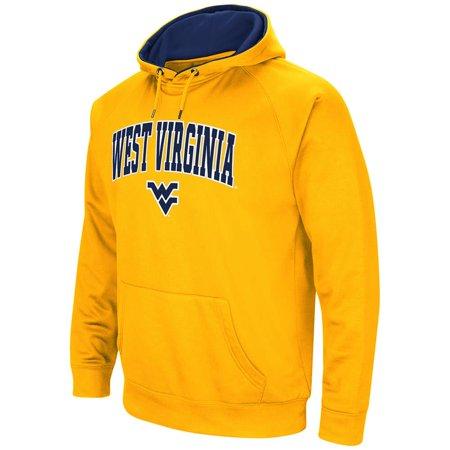 7b7da61297d Mens West Virginia Mountaineers Fleece Pull-over Hoodie - Walmart.com