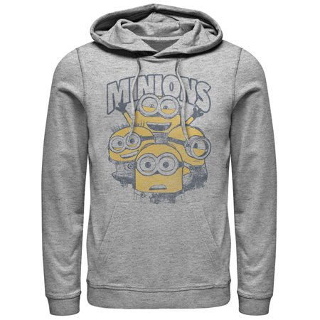 Despicable Me Men's Minion Group Shot Hoodie (Minion Hoodie)