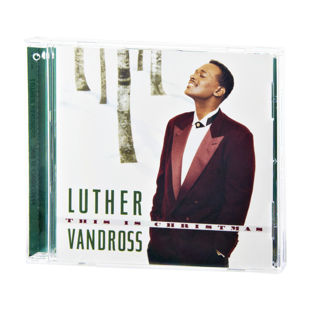 Luther Vandross With A Christmas Heart.This Is Christmas