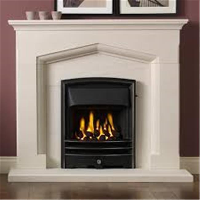 Outdoor Plus OPT-RGL60-LIMESTONE 60 in. Regal Limestone Fireplace