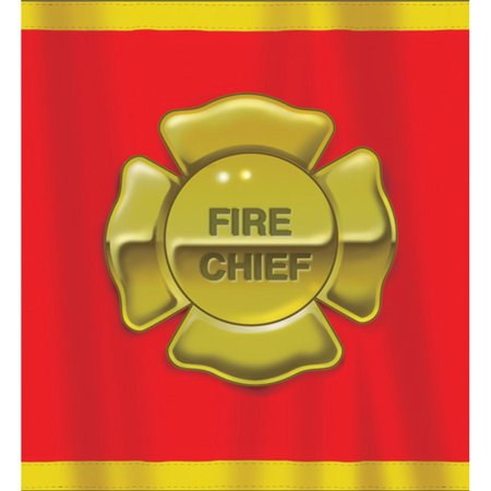 Pack of 6 Firefighter Disposable Plastic Party Banquet Table Covers 108