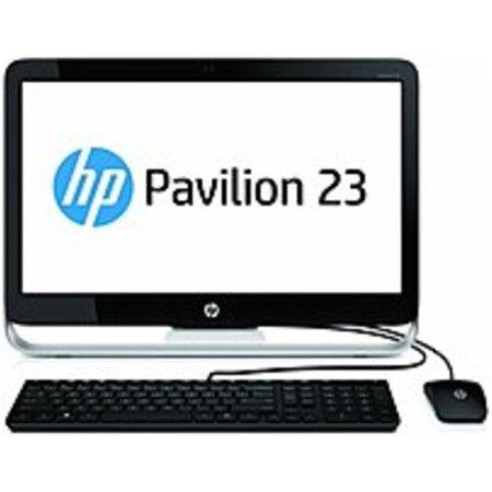 Refurbished HP Pavilion F3D37AA 23-G010 Desktop PC - AMD E2-3800 1.3 GHz Quad-Core Processor - 4 GB DDR3L-1600 SDRAM - 500 GB Hard Drive - 23.0-inch LED Display - Windows 8.1 64-bit