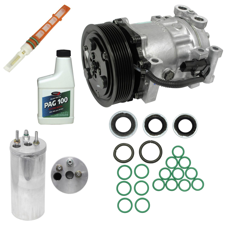 For Dodge Dakota 2000-2001 3.9L 5.9L Complete A//C Repair Kit Compressor /& Clutch