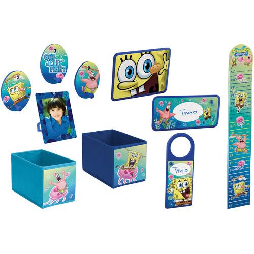 Nickelodeon Spongebob Decor In A Box