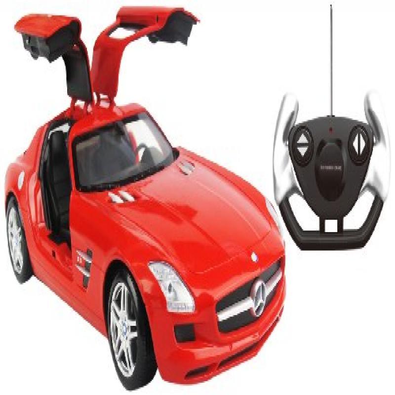 Kid Galaxy Mercedes-Benz SLS AMG R C Car, 1:14 Scale, Red by