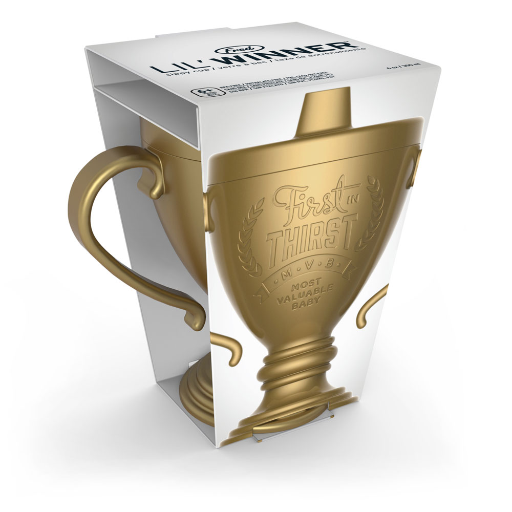 Fred and Friends Lil Winner Trophy Sippy Cup by Fred and Friends