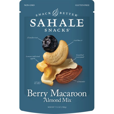 Sahale Snacks, Berry Macaroon Almond Mix, 7 oz(pack of 4)