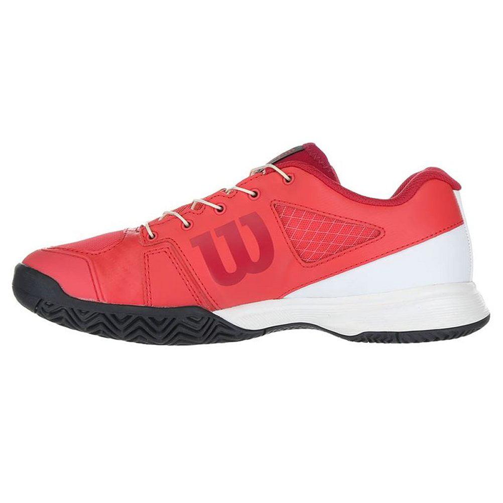 5.5 Wilson RUSH PRO JR QL Tennis Shoes Paradise Pink//White//Barberry