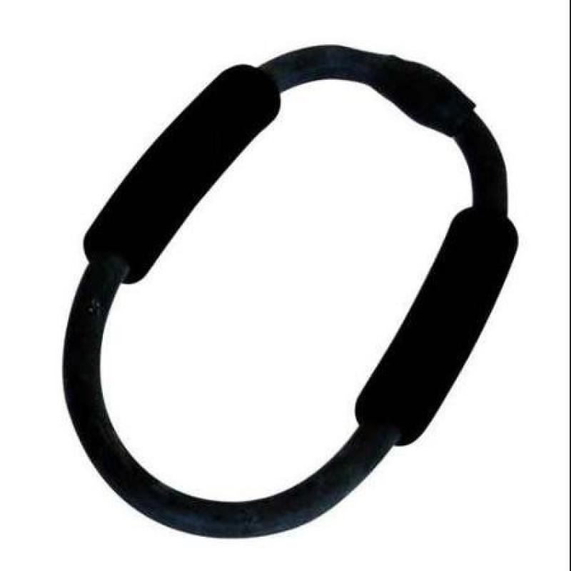 Balego® Toning & Fitness Exercise Resistance Ring with Foam Handles: Ultra-Heavy (Black)