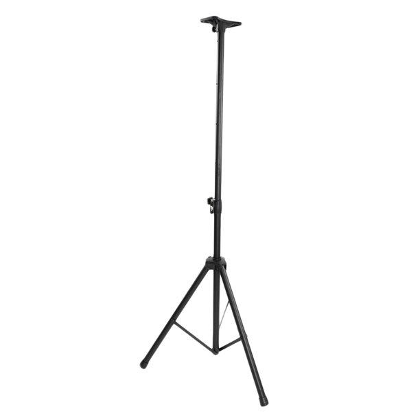 Feelglad Nylon Adjustable Tripod Dj Pa Speaker Stand Black Speaker Stands For Dj Music Adjustable Tripod Height Walmart Com Walmart Com