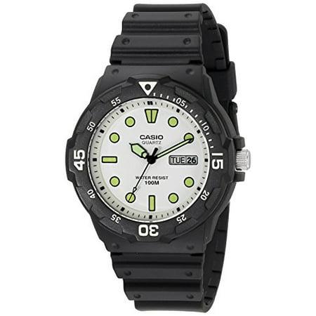casio men's mrw200h-7ev sport resin watch ()
